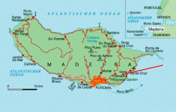 mapa de santa cruz madeira Vila Florina   Lage mapa de santa cruz madeira